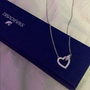Swaroviski heart necklace